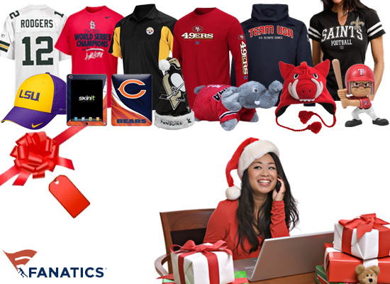 Fanatics Quick and Easy Holiday Shopping